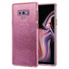 Galaxy Note 9 Case Liquid Crystal Glitter