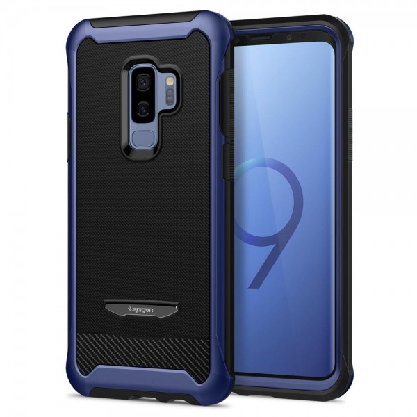separation shoes 2fdc4 8ae1f Galaxy S9 Plus Case Reventon (Full Cover with Tempered Glass) Spigen