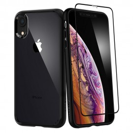 iPhone XR Case Ultra Hybrid 360 (Glass Screen Protector)