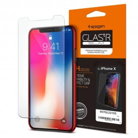 Spigen iPhone X Screen Protector GLASS SLIM